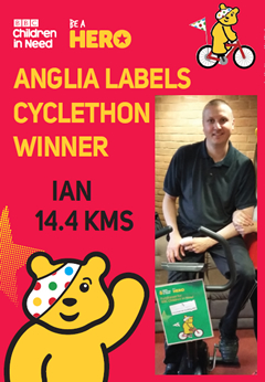 Children in Need Cyclethon 2015