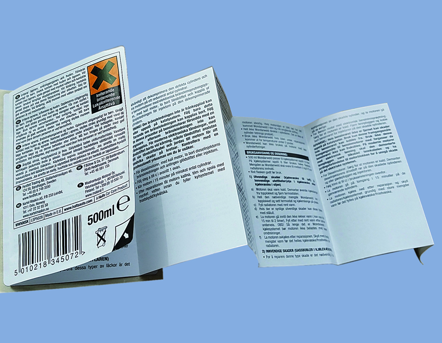 Leaflet & Promotional Labels